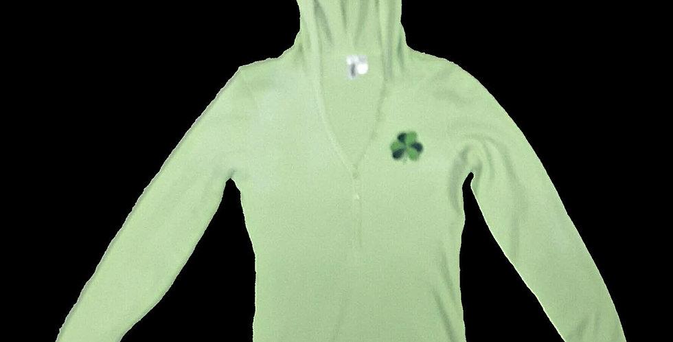 Light Weight Irish Mint Green Hood