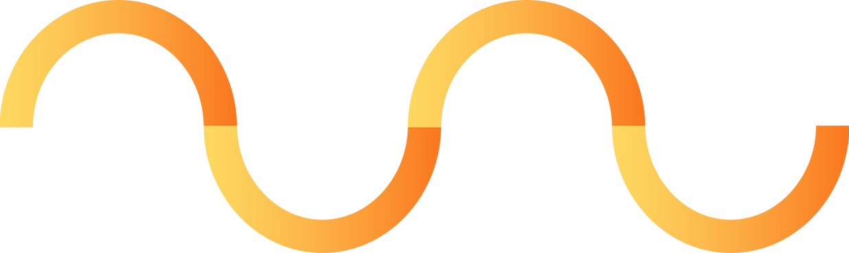 Colorful curva linea