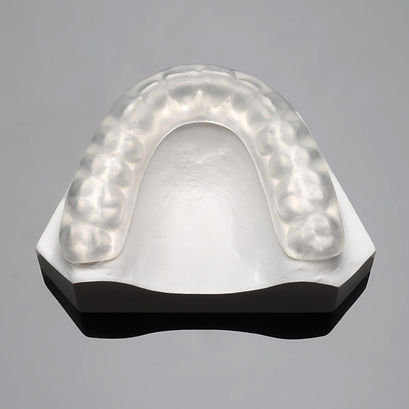 Occulus splint teeth grinding