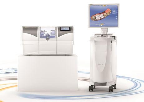 Cosmetic dentistry Cerec digital restorations