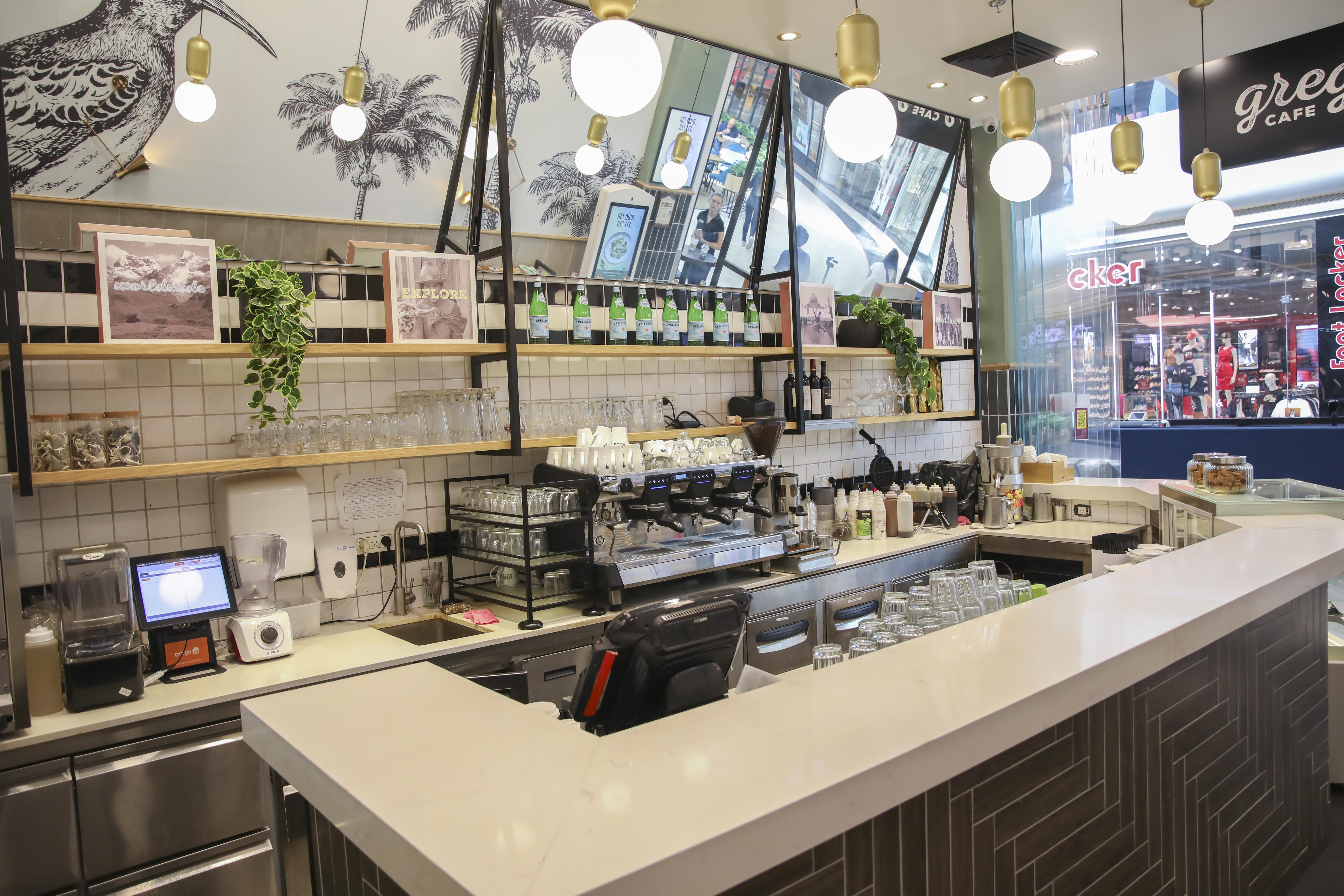 קפה גרג, סניף עיר ימים, נתניה