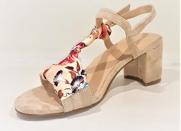 1MODA sandales BEIGE