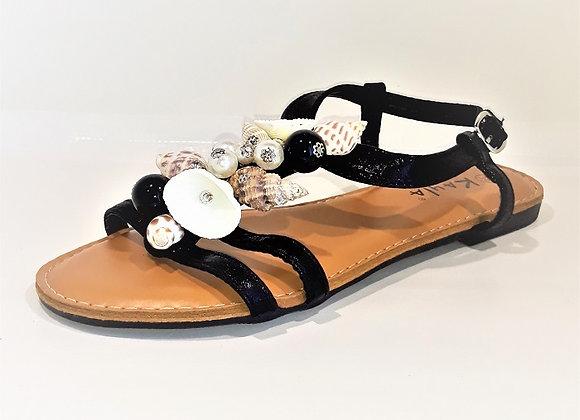1MODA KAYLA sandales coquillage L6368