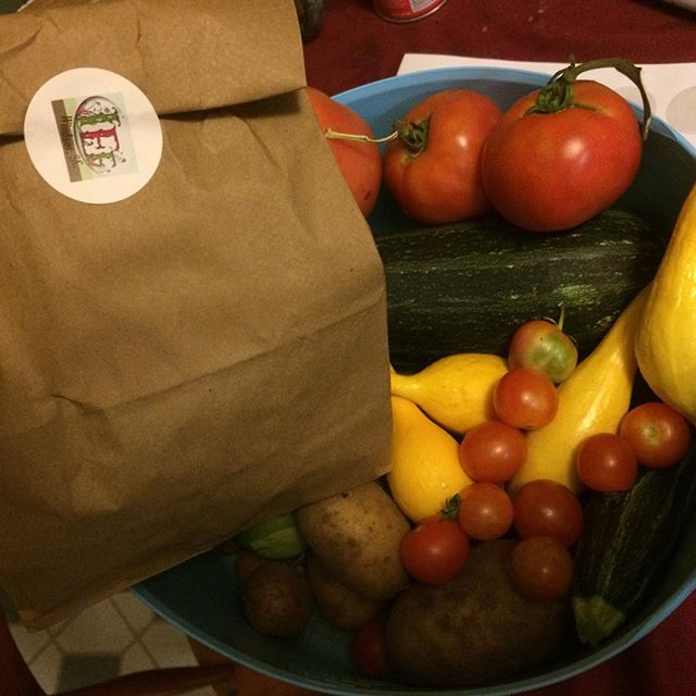A small basket of veggies #nofilter