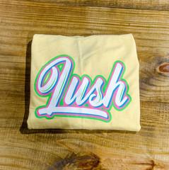 Yellow LUSH T-shirt
