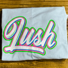 Blue LUSH T-shirt
