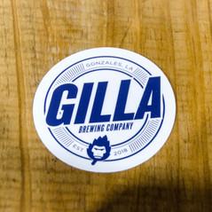 Gilla New Logo Sticker