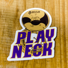 Play Neck Sticker