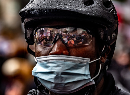 Monday Pic: Portrait of Police Officer at George Floyd Protest