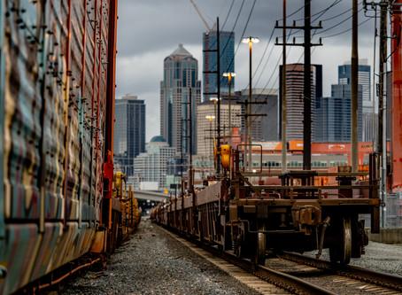 Views from the SoDo Tracks