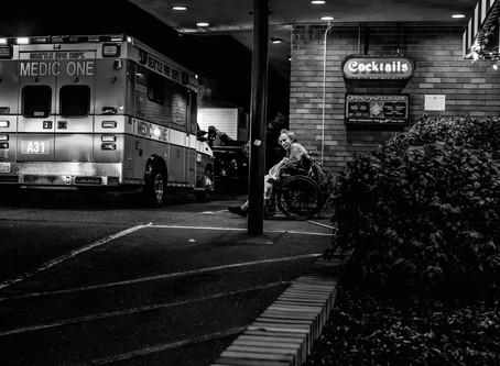 Night Shots, Seattle and Boston