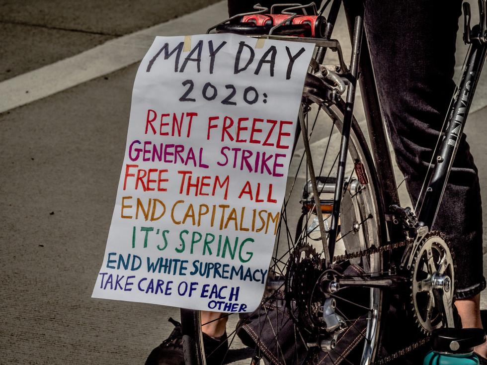 May Day Sign