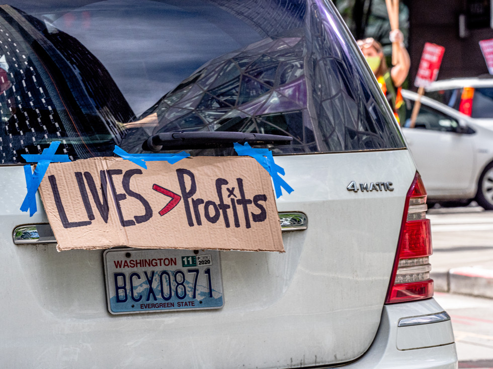 Lives Greater Than Profits