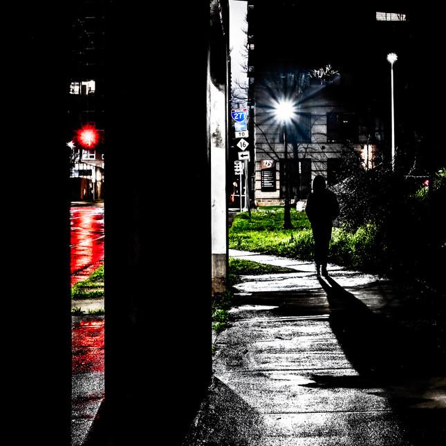 Underpass and Rain
