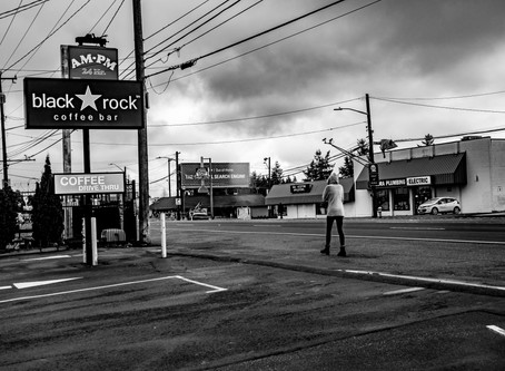 My Seattle Covid Walks: The Aloneness of Aurora Avenue
