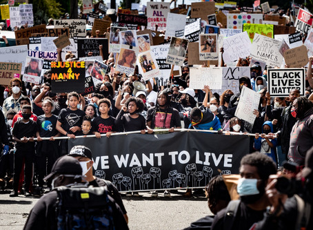 Seattle's We Want To Live Rally & March - June 7