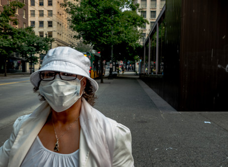 2018 Wildfires & Seattle Haze: Facemasks Long Before Covid