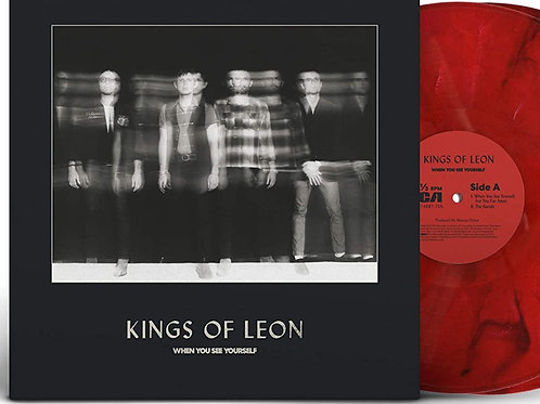 Kings of Leon When You See Yourself  Exclusive Limited red vinyl)