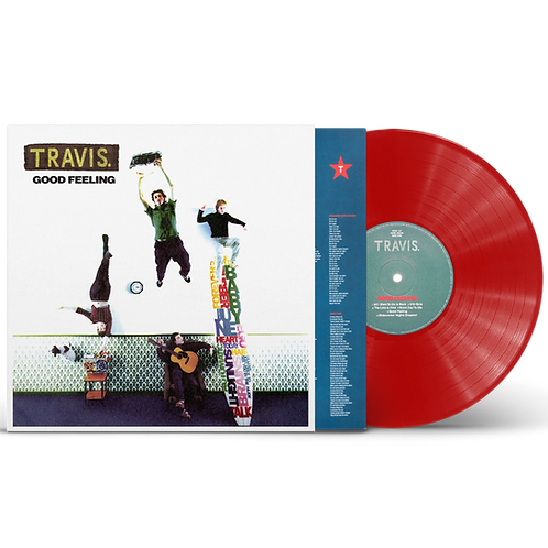 Travis - Good Feeling - Limited Edition Red 180G Vinyl LP