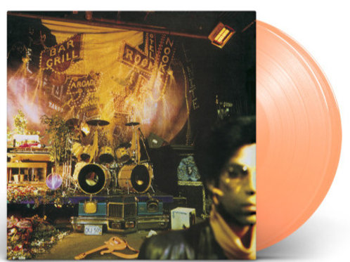 Prince Sign of the Times Remastered Limited Edition 2 LP 180g peach vinyl.