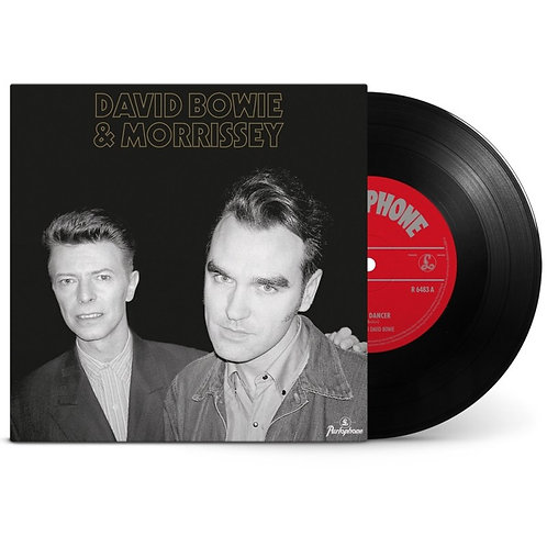 David Bowie and Morrissey Cosmic Dancer