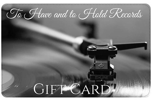 To Have and to Hold Records Gift Card £50