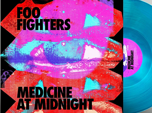 Foo Fighters Medicine at Midnight - Limited Edition Blue Vinyl