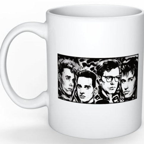 "Depecheuk Faces Mug ""101""Limited"