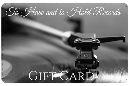 To Have and to Hold Records Gift Card £25