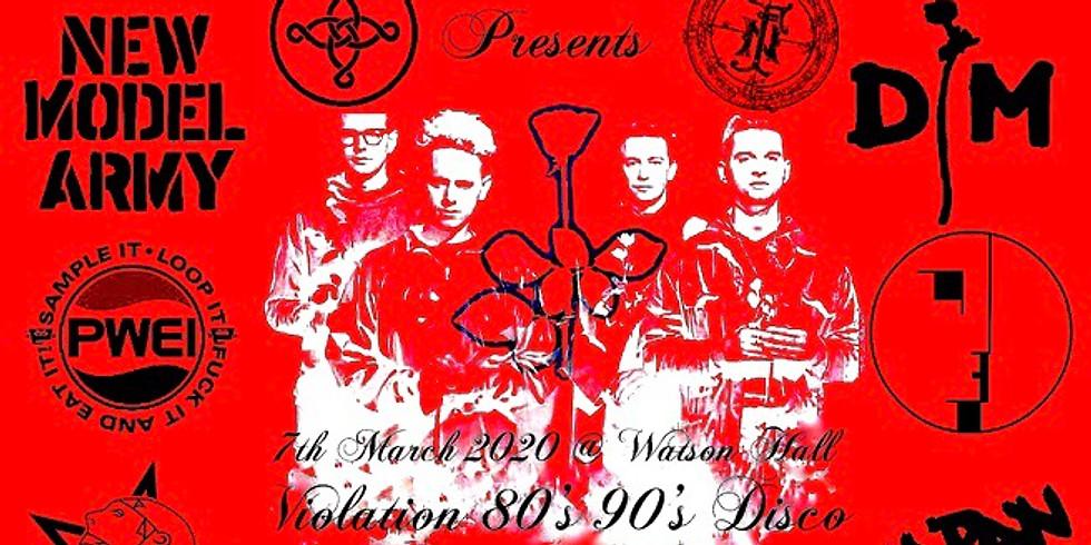 Violation 80's 90's Disco