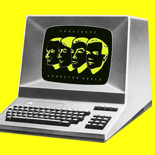 Kraftwerk Computer World Transparent Neon Yellow Vinyl