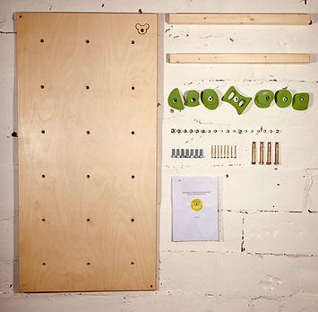 Детский скалодром для квартиры