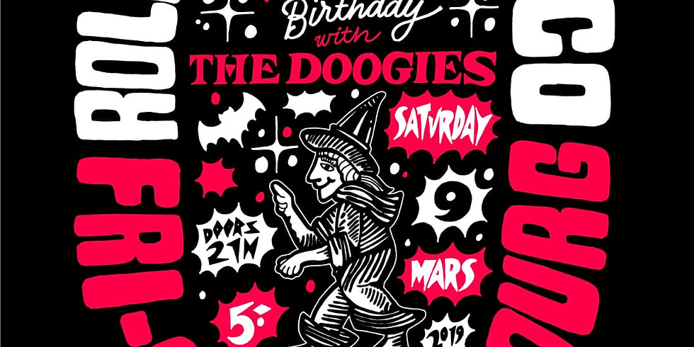 Roller Derby Disco with the Doogies at Fri-Son