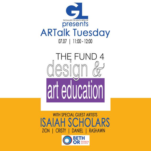 Isaiah Scholars | Fund 4 Design & Art Education