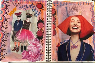 Whimsical Collage | Linda Faber