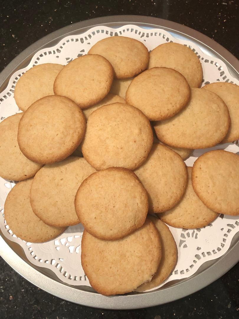 lemon almond sugar cookies