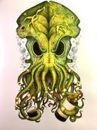 Kraken (Back) Tattoo Design