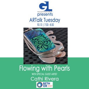 Flowing with Pearls | Cathi Rivera