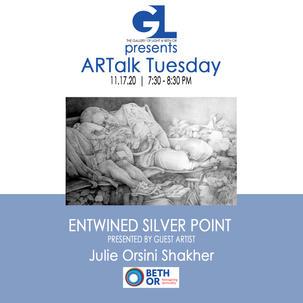 Entwined Silver Point | Julie Orsini Shakher