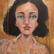 Grace  24x36   mixed media on canvas  $310