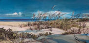 Waters Edge 12x28 Oil on Canvas $1200.00
