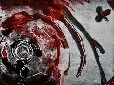 """Monotype  Oil  11X14"""" $150"""