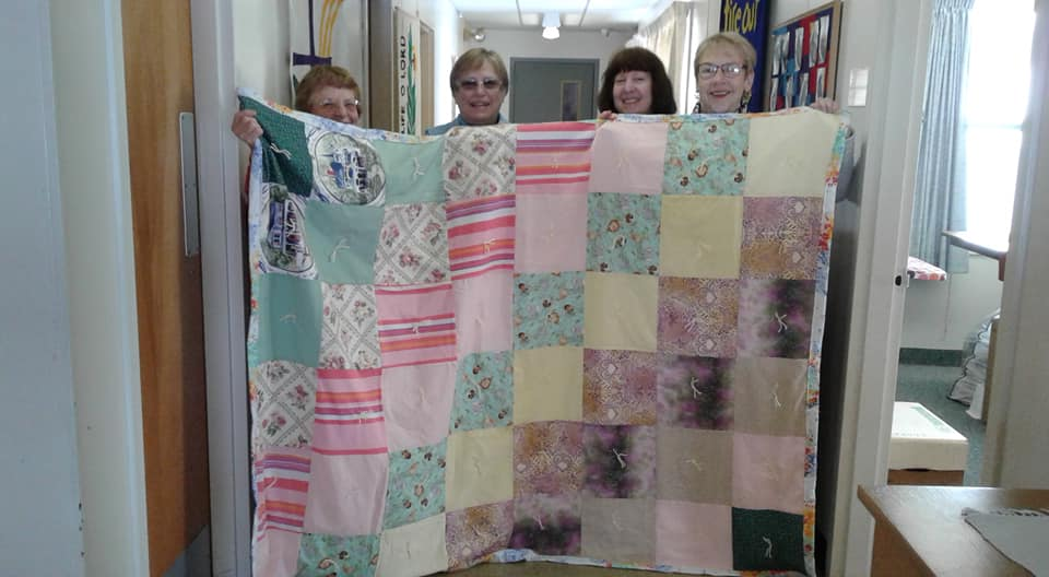 Quilting for Lutheran World Relief