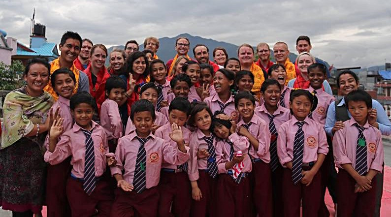 Kathmandu girls orphanage school, 2016