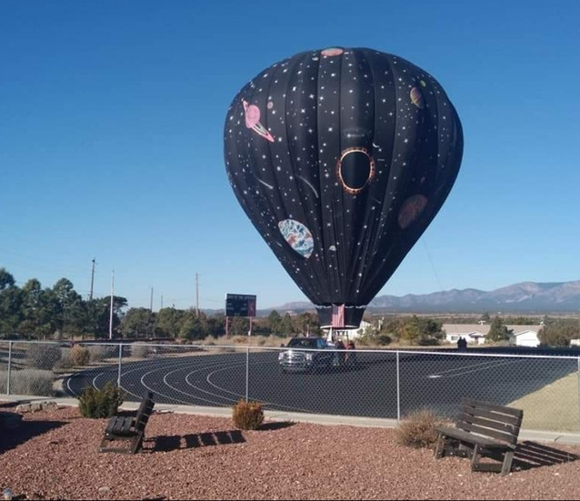 Hot Air Balloon is Out of this World