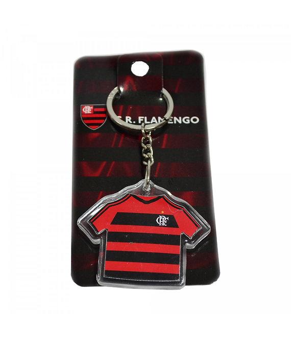 Chaveiro do Flamengo de acrílico