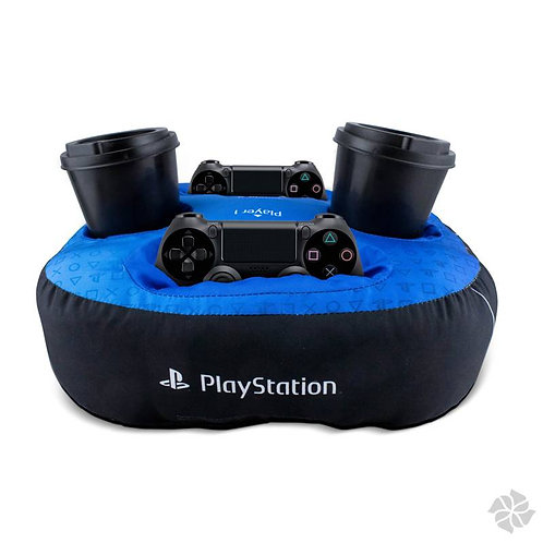 Almofada porta controle + 2 copos - PlayStayton