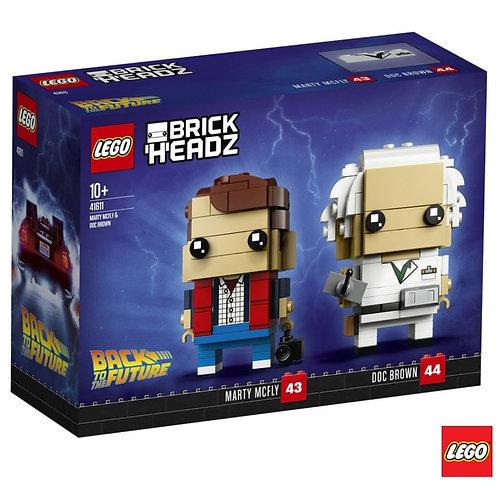 Lego De volta para o Futuro Brick Headz
