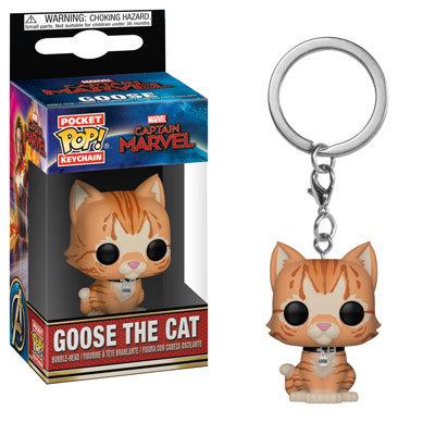 Goose the Cat - chaveiro