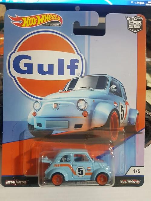 Hot Wheels - 60s Fiat 500D Modificado - série Gulf